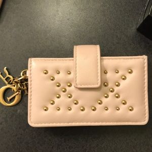 Authentic Christian Dior card holder